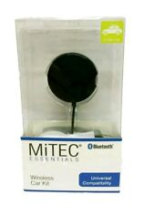 Mitec Essentials Bluetooth Universal Wireless Car Kit With Charger