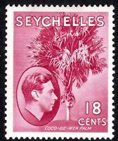 Seychelles1938 carmine-lake 18c multi-script mint SG139c