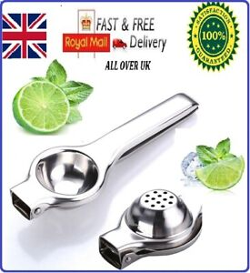 Lemon Lime Squeezer Juicer Stainless Steel professional manual Hand Press Tool
