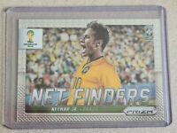 2014 World Cup Panini Prizm Neymar JR. Netfinders #5 Insert