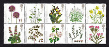 2009 PLANTS SET OF 10 ( BLOCK ) SG2931/2940 UNMOUNTED MINT