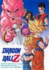 Poster A3 Dragon Ball Z Gohan Goku Vegeta Majin Buu Manga Anime Cartel