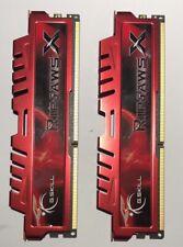 G.SKILL RipjawsX 8GB (2x4) 1600 MHz DDR3 PC3-12800 RAM Memory F3-12800CL9D-8GBXL
