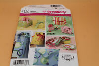Simplicity 4232 Uncut Fabric Gift Boxes Shirley Botsford Designs New