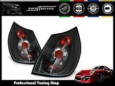 NEUF 2 FEUX ARRIÈRE ENSEMBLE LAMPS LTRE22 RENAULT SCENIC 2003-2006 BLACK