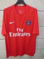 Maillot PARIS SAINT-GERMAIN PSG entrainement NIKE training shirt rouge Dri-Fit L