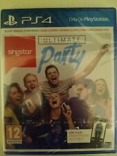 SINGSTAR ULTIMATE PARTY (PS4) *NEW & SEALED* Game only