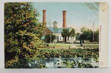 Jacksonville Florida Water Works c1907 udb Postcard N8