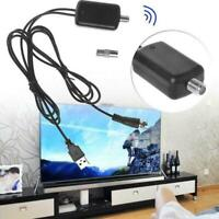 TV Amplifier Signal HD Channel For Cable TV Booster Digital Fox HD Antenna D2J0