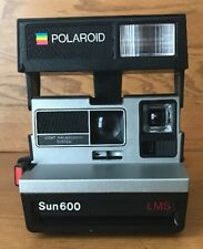 Polaroid Instant Film Camera Sun 600 LMS Pop Up Flash Untested