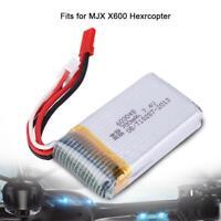 7.4V 700mAh Lipo Battery Designed for MJX X600 RC Drone Quadcopter