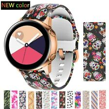20mm Sport Silicone Band Strap For Samsung Galaxy Watch 42mm Active 2 40 44mm