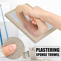Plastering Sponge Float Plaster Cement Finish Trowel Grey Rubber 8.3×5.5×0.6""