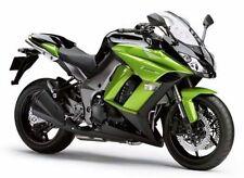 Pièces détachées de carrosserie et cadres argenté pour motocyclette Kawasaki