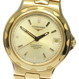LONGINES Conquest VHP 950 limited L1.632.2 4P diamond Quartz Men's Watch_622963