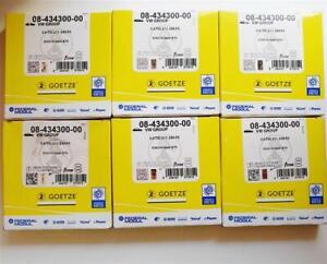 6x Piston Rings Audi Volkswagen A4 A6 A8 2.7 3.0 Tdi V6 Asb Bkn Bmk