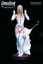Marvel: Sideshow EMMA FROST (White Queen) comiquette statue - RARE (x-men)