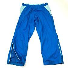 Vintage Danskin Pantalon Taille Extra Large 16p - 18p Bleu Piste Droit 90s