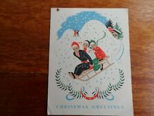 CHRISTMAS GREETINGS - NATIONAL SAVINGS Collecting Card - Vintage