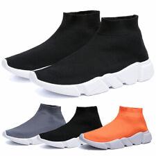 Women's Casual Walking Shoes Outdoor Running Tennis Slip-on High Top Sneakers US