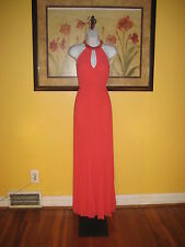 NWT bebe  $228 Red Gown Size 2