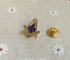 Pin 's  maconnique Maconnerie  Equerre G Fond Bleu Masonic Franc Macon Freemason
