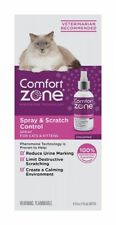 LM Comfort Zone Spray & Scratch Control Spray for Cats & Kittens 4 oz