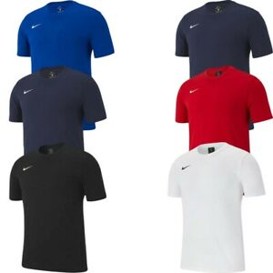 Nike Boys Kids TShirts Tee Shirts Club 19 Football Jersey T-Shirt Tops Cotton
