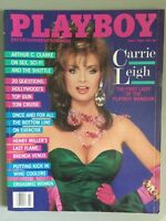 Vintage Playboy July 1986 Carrie Leigh Pictorial Magazine Original
