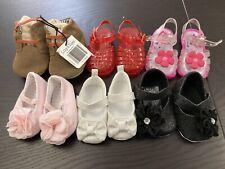 Zapatos de Bebé Niñas Cochecito Paquete de 0-12 meses