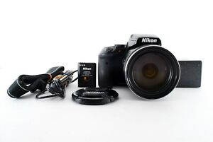 Nikon COOLPIX P900 Black Digital Camera 16MP 83x Optical Zoom From Japan [Exc++]