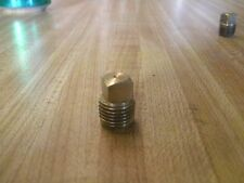 "1/4"" NPT Brass Pipe Square Head Plug"