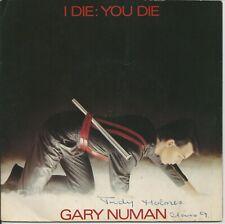 """Gary Numan - I Die: You Die 7"""" Vinyl Single 1980"""