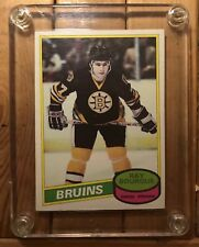 1980 Opc O-Pee-Chee Ray Bourque Rookie Card #140