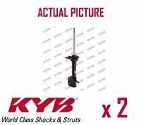 2 x REAR AXLE SHOCK ABSORBERS PAIR STRUTS SHOCKERS KYB OE QUALITY 334359