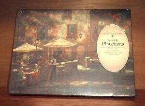 Sheffield Home Placemats Set of 4 - New in Shrink