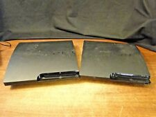 2 Playstation 3 Slim Consoles, Cech- 3001b, 3001A, For Parts or Repair