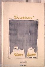 ED E SUBITO SERA Omaggio a Salvatore Quasimodo A cura di Antonio Donadio Amalfi