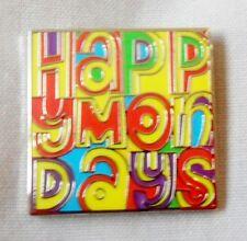 *NEW* Happy Mondays enamel badge. Stone Roses,Shaun Ryder,Bez,Indie,Mod.