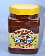 3lbs Best Quality Raw Unfiltered Clover Honey Ca (kosher)