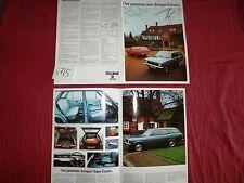 N°4715 / catalogue HILLMAN  Avenger Estates   Chrysler UK    1972