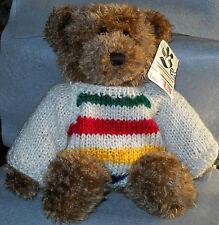 """Gund Brown Bay Bear Hudson Bay Sweater 34cm/14"""" Handmade 4393"""
