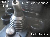 RDX SHORT Cup Centre Console Defender 300Tdi Td5 models