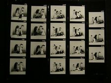70s Fashion 11x14 Contact Sheet By Harry Langdon OS20