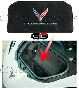 Ultimat Lloyd Front Trunk Mat For 2020+ C8 Corvette Stingray Logos