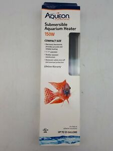 Submersible Aquarium Heater: 150W | 55 Gallon Aquariums (PET81)
