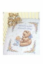 Dimensions® Sweet Prayer Baby Quilt Stamped Cross-Stitch Kit New Craft