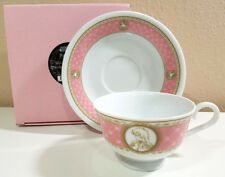Shoujo Kakumei Utena - Pink Teacup & Saucer Set - Movic 1117EV - w Rose & Anthy