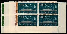 Norway Scott 382-6 Mint NH blocks
