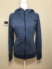 The North Face Women's Terry Full Zip Hoodie Jacket Grey Pink Blue XS S M L XL